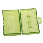 Soshine 2*18650/4*CR123A Battery Protective Case (Bottle Green)
