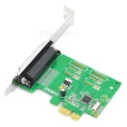 IOCREST IO-PCE382-1P PCI-Express 1-Port Parallel Controller Card - Green