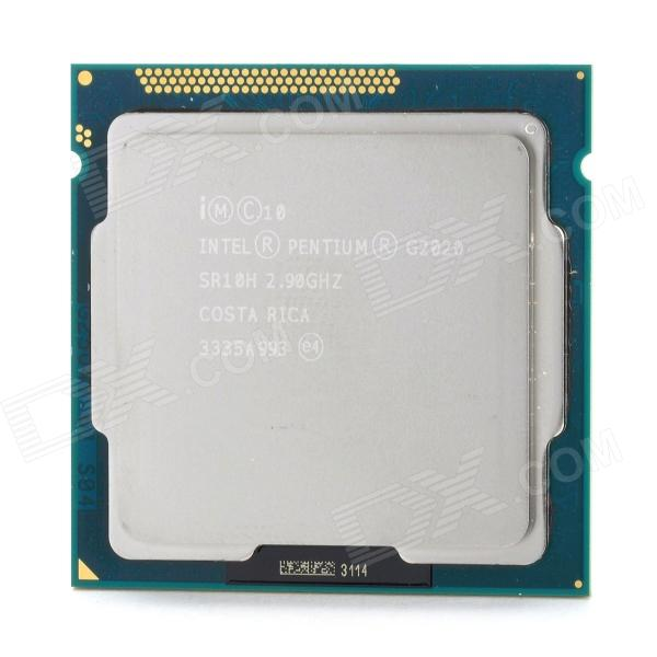Intel G2020 Dual-Core 2.9GHz LGA1155 22nm 3MB 55W CPU for Desktop msi zh77a g43 original desktop motherboard ddr3 lga 1155 for i3 i5 i7 cpu 32gb usb3 0 sata3 h77 motherboard