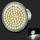 LeXing LX-034 E27 4W 400lm 7000K 80 SMD 3528 LED White Light Spotlight - Silver