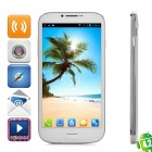 "BLACKVIEW JK809 Quad-Core Android 4.2 WCDMA Bar Phone w/ 6"" IPS, Wi-Fi, GPS and ROM 8GB - White"
