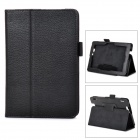 "Protective PU Leather Case w/ Stand for 7"" Tablet PC Amazon Kindle Fire HDX 7 - Black"