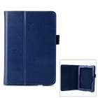"Protective PU Leather Case w/ Stand for 7"" Tablet PC Amazon Kindle Fire HDX 7 - Deep Blue"