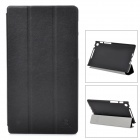 NILLKIN Protective Flip Open Case w/ Stand for Google Nexus 7 II - Black