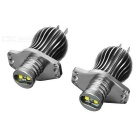 E90 20W 117lm 7000K Cree XB-D LED White Light Angel Eyes Lamp for BMW E90 / 91 (12V / 2 PCS)
