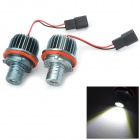 E39 20W 117lm 7000K CREE XB-D LED White Light Angel Eyes Lamps for BMW (12V / 2 PCS)