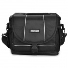 CADEN D2 Water Resistant Nylon Camera Bag for Nikon / Canon SLR - Black