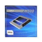 "Crucial M500 2.5"" SATA SSD Solid State Drive (240GB / 6Gb/s / 7mm / 9.5mm)"