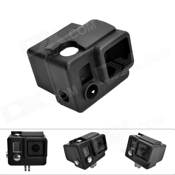 Fat Cat C-CS3+ High Quality Silicone Protective Case for Gopro Hero3+ / Hero3 Plus - Black
