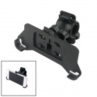 360 Degree Rotation Bicycle Motorcycle Mount Holder Bracket for iPhone 5 / 5s - Black