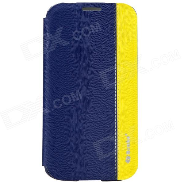 Benks Magic Fruit Pie Protective PU leather Case Cover for Samsung Galaxy S4 i9500 - Blue