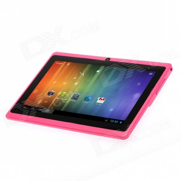 "Irulu AK328 7"" android 4.2 tablette PC avec RAM 512MB, 8GB rom, double caméra, wi-fi - rose"