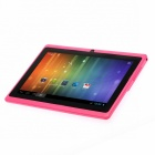 "iRulu 7 ""Android 4.1 Dual Core Tablet PC ж / 512 Мб оперативной памяти, 4 Гб ROM, двойная камера, HDMI, Wi-Fi - Розовый"