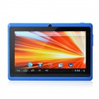 "UBOX A7 7.0"" Android 4.0 Tablet PC w/ 512MB RAM, 4GB ROM, Wi-Fi, TF - Blue + Black"