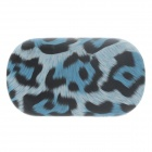 Fashionable Leopard Print Style Contact Lens Case - Blue + Black + White