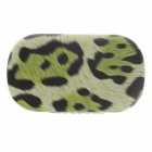 Fashionable Leopard Print Style Contact Lens Case - Green + Black