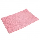 Anti-slip Water Absorption Soft Plush Bedroom Carpet Doormat - Pink (Size-L)