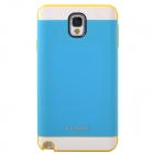 NX CASE Stylish Protective PC + TPU Back Case for Samsung Galaxy Note 3 N9000 - Yellow + White