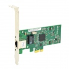 Winyao WY573T PCI-E X1 RJ45 Gigabit LAN for Desktop Computer - Green