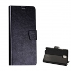 Mikasso Protective PU Leather Case Cover Stand w/ Card Slots for Samsung Galaxy Note 3 N9000 - Black