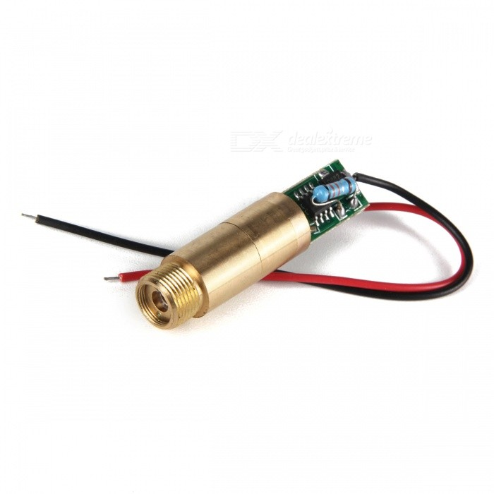 50mW 532nm Green Laser Module (3V 11.9mm)