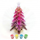 Robotime C010 3D Model Puzzle Christmas Tree Christmas Music Luminous - Multicolored