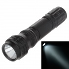 Small Sun ZY-568 200lm 6000K White Light Flashlight - Black (1 x AA)