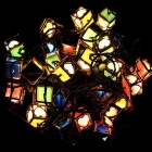 Christmas Gift Box Lantern 28-LED String Light - Multicolored (110V)