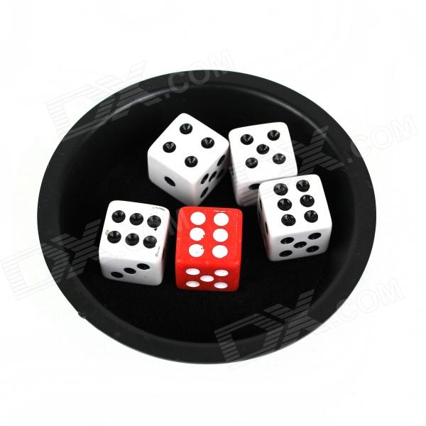 The Disappearance Of The Dice Magic Props - Black + White + Red