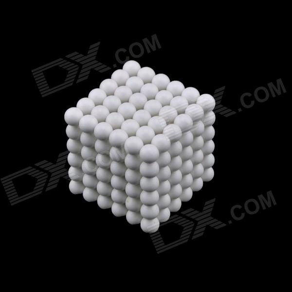 DIY N35 NdFeB Magnetic Magic Beads - White (216 PCS) the white guard