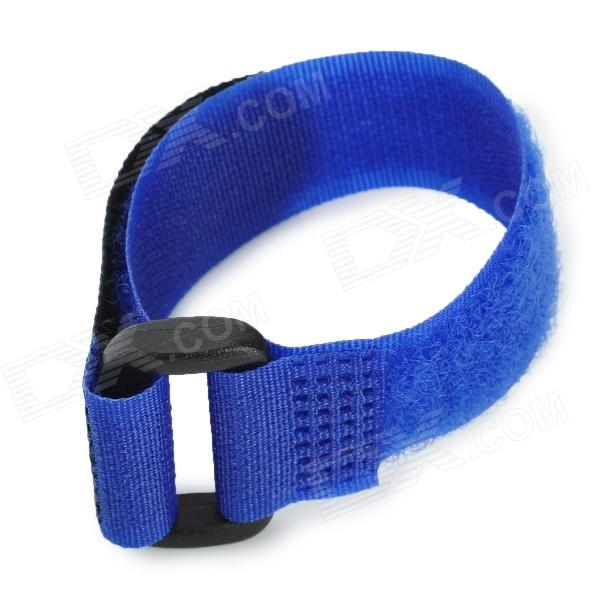 Nylon + Velcro Band Tie for Gopro Hero 4/ 3 / 3+ and Wi-Fi Wireless Remote Control - Blue