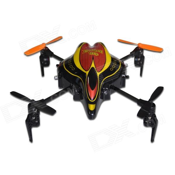 Wakera QR Infra X Mini 4-CH R/C Quadcopter BNF - Red + Black
