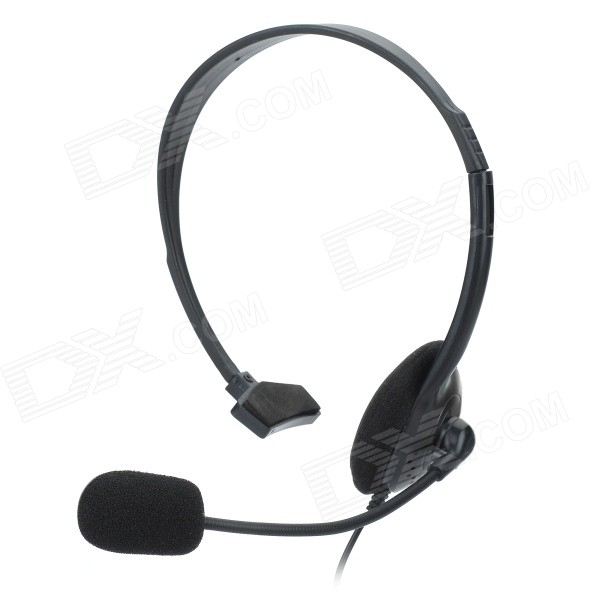 Headphone Único elegante w / microfone para PS4 - Preto