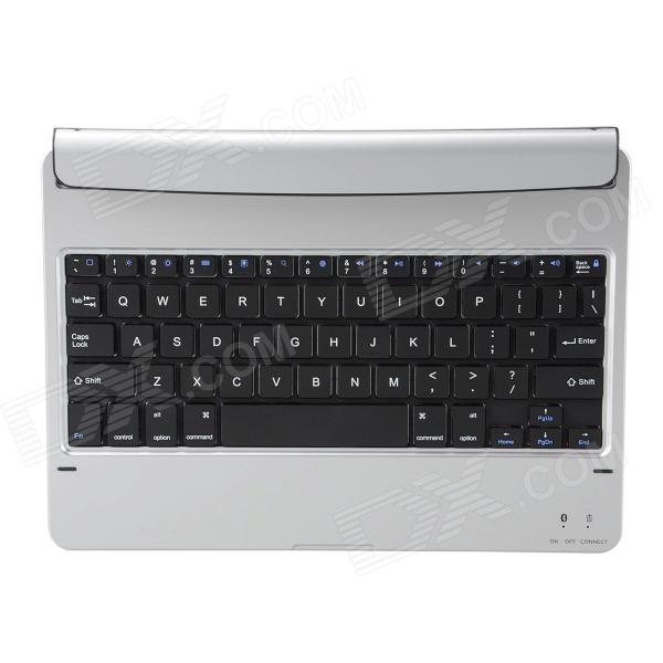 все цены на Mini Ultrathin Bluetooth V3.0 64-Key Wireless Keyboard w/ Magnetic Slot for Ipad AIR - Silver онлайн