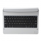 Mini Ultrathin Bluetooth V3.0 64-Key Wireless Keyboard w/ Magnetic Slot for Ipad AIR - Silver
