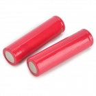 Replacement 2000mAh 3.7V 18650 Li-ion Battery - Red (2 PCS)