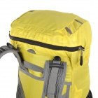 Locallion H-012 Outdoor Sports Multifunction Nylon Backpack - Yellow