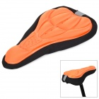 SAHOO 47861 Bicycle 3D Breathable Saddle Cover w/ Rope - Orange + Black