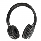 X720 Wireless Stereo Bluetooth V2.1 + EDR Headset w/ Microphone/ TF  - Black + Gray