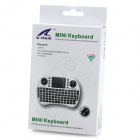 W-SHARK Mini Wireless 2.4GHz Keyboard Air Mouse for MACBOOK - White