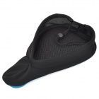 SAHOO-4786 Bicycle 3D Breathable Saddle Cover - Blue + Black