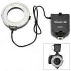 Aputure AHL-C60 60 LED Macro Ring Flash Light Video Camera Light for DSLR Canon - Black