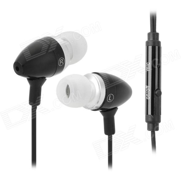 Universal 3.5mm In-Ear Earphone w/ Microphone / Cable Control