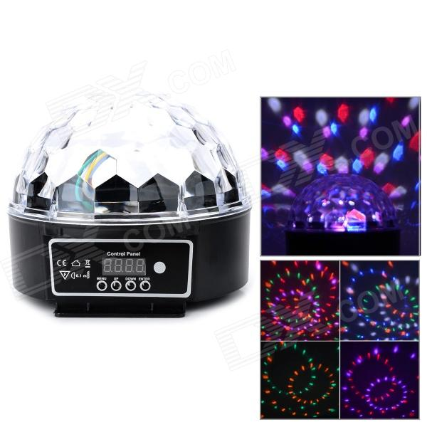 LB606 8W 4 Lighting Pattern US Plug LED Magic Ball Light - White (AC 90V~240V)