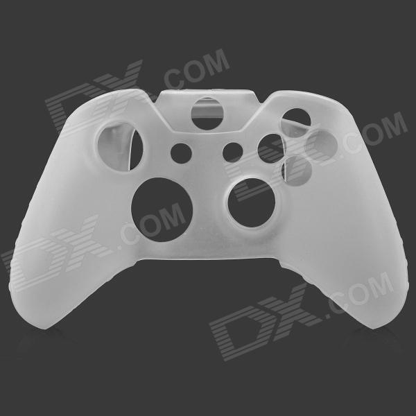Protective Silicone Case for XBOX ONE Control Pad - White protective silicone case for xbox one controller camouflage green