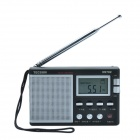 Tecsun R9702 1.7'' Ultra-thin High Sensitivity World Band Stereo Radio Receiver w/ Stand