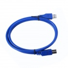 ULT-unite ULT-0269 USB 3.0 Gold Plated Connectors High Speed Print Cable - Deep Blue (60cm)