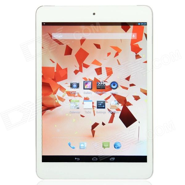 HI6 7.85 IPS Quad Core Android 4.2.2 3G Phone Tablet PC w/ 1GB RAM, 16GB ROM, Bluetooth - White q79 7 9 ips dual core android 4 1 tablet pc w 16gb rom 1gb ram 3g 2g phone bluetooth