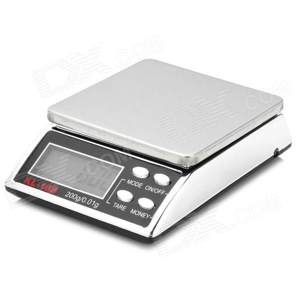 WLXY WLK-168 1.5 LCD Jewelry Scale (200g / 0.01g) 50g 0 001g digital electronic scale 0 001g precision touch lcd digital jewelry diamond scale laboratory counting weight balance