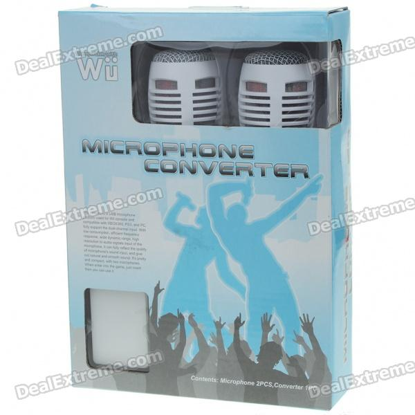 how to connect microphone to wii usb